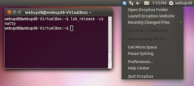 Dropbox Ubuntu 11.04