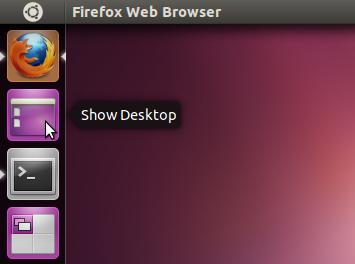 Show Desktop Unity