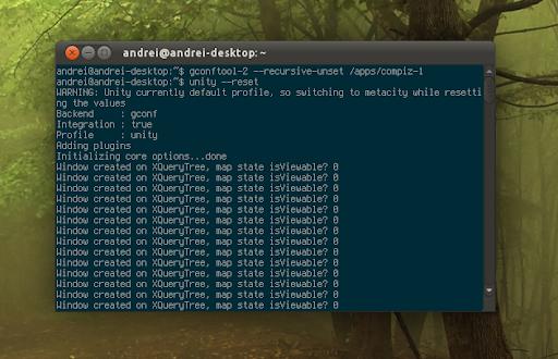 如何重置Ubuntu的Unity、启动图标和Compiz