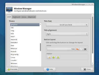 Xubuntu Window Manager