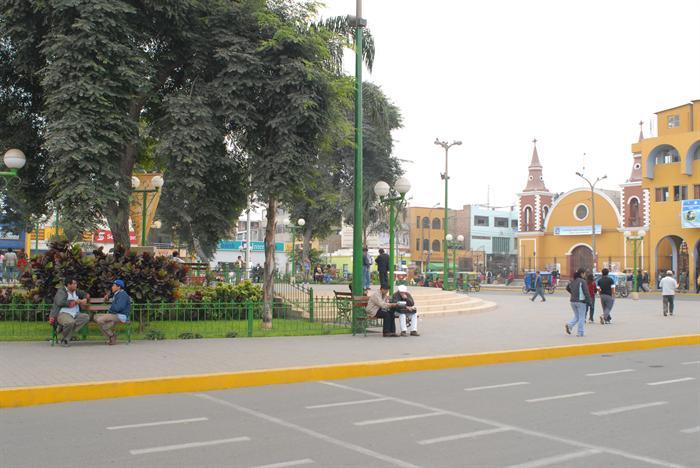 Centro de Huaral Peru