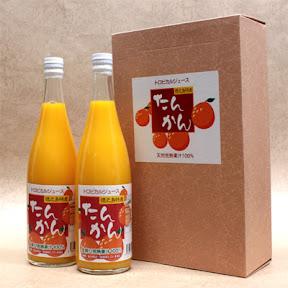 たんかんジュース(2本入り)