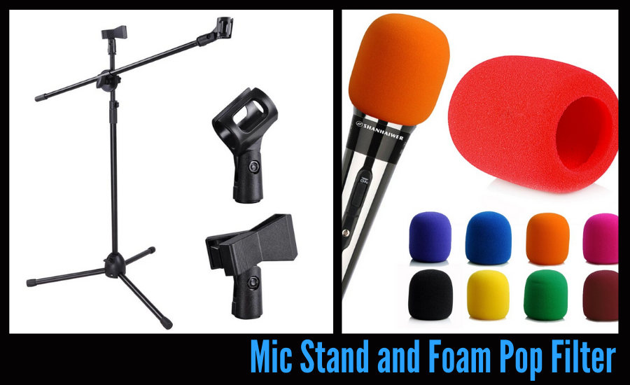 accessories for your podcast
