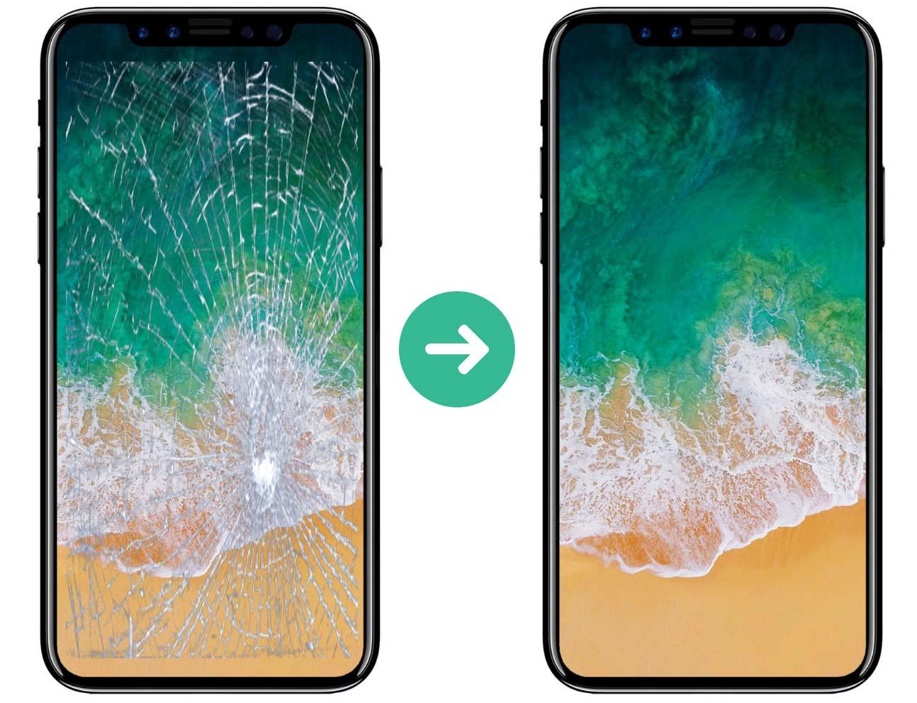 Thay mặt kính iPhone Xs Max giá rẻ lấy ngay