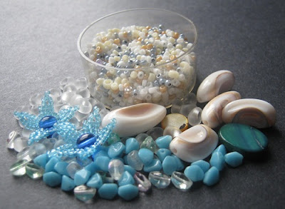White Beach Bead Palette