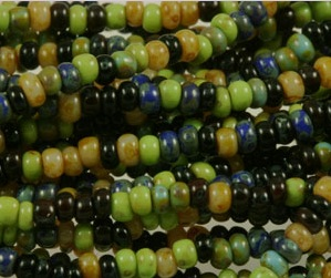 Picasso Perfect Seed Bead Mix from AGrainofSand.com