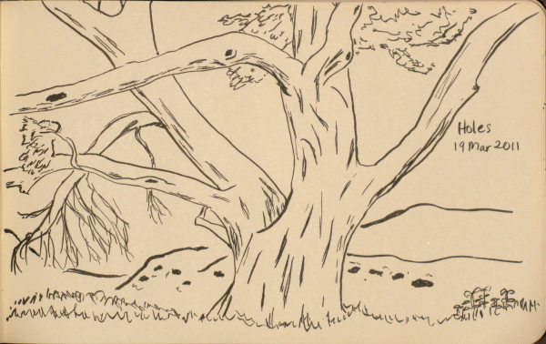 another tree sketch