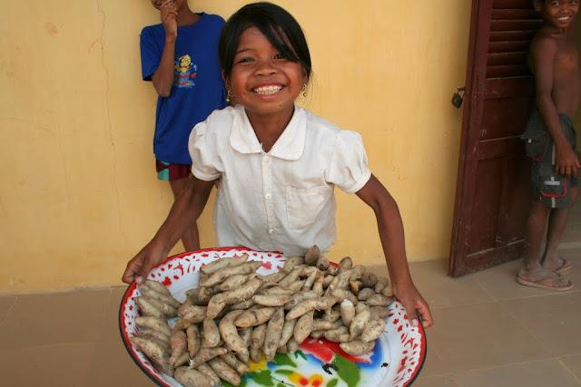 カンボジア シェムリアップの女の子