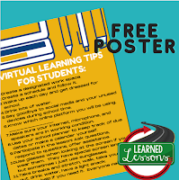Student Virtual Learning Tips, Back to School, Distance Learning