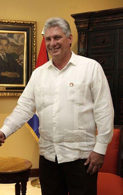 迪亞斯-卡內爾(Díaz Canel)。(維基百科)