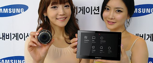 Sens-240 Navigation Tablet, the latest from Samsung