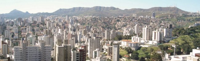 Belo Horizonte por Winkpolve en Wikimedia Commons