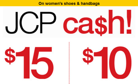 JCP cash women