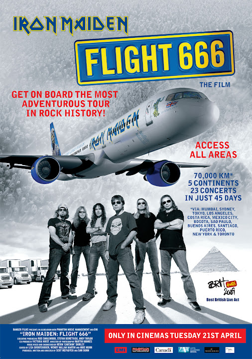 Iron Maiden: Flight 666 Ingles Sub. Español