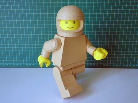 Lego Man Papercraft