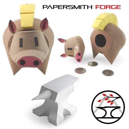 Razorbank Papercraft