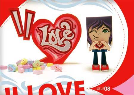 II LOVE Paper TOy Magazine 8
