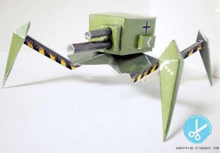 CHG1 Crawler Tank Papercraft