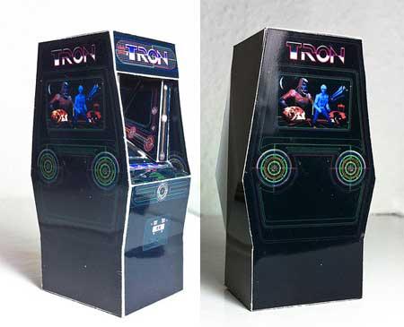 Tron Arcade Papercraft