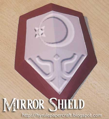 Mirror Shield Papercraft