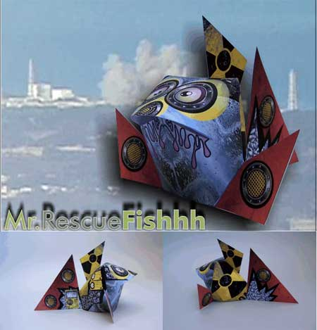 Mr. RescueFishhh Paper Toy