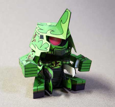 MS06K1 Zako Papercraft