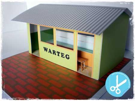 Warteg Papercraft