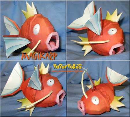 Pokemon Magikarp Papercraft