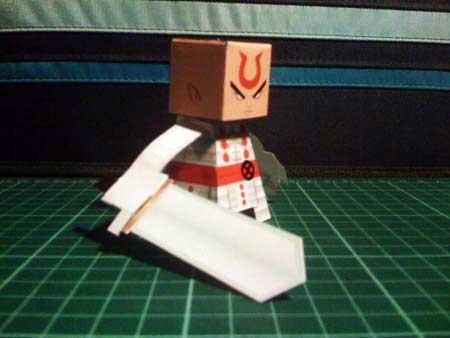 Silver Samurai Papercraft