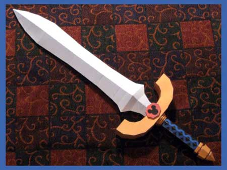 Kingdom Hearts 2 Dream Sword Papercraft