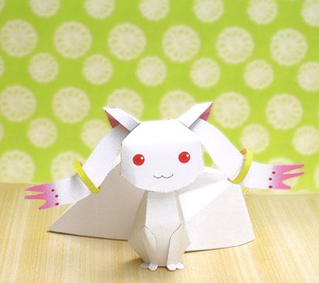 Kyubey Incubator Papercraft