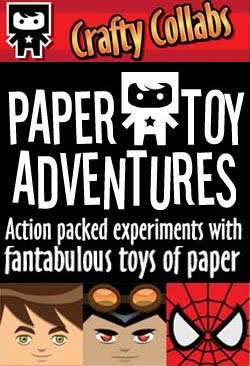 Superhero Paper Toys East Meets West