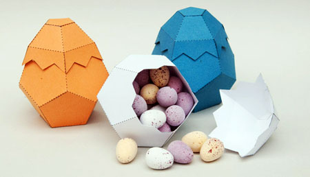 Easter 2011 Egg Box Papercraft