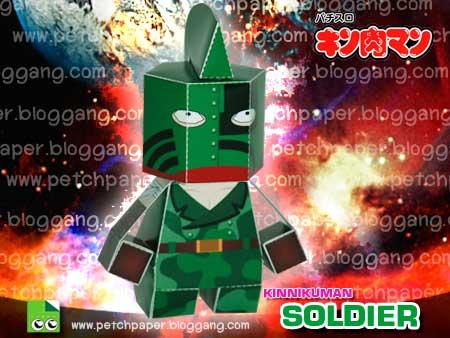 Kinnikuman Soldier Papercraft