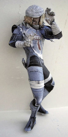 Super Smash Bros Brawl Sheik Papercraft