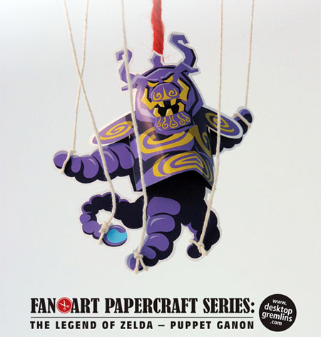 Puppet Ganon Papercraft
