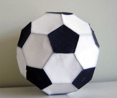 Super Smash Bros Brawl Soccer Ball Papercraft