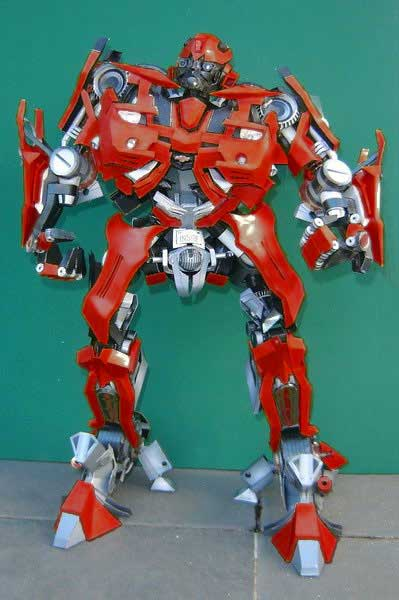 Transformers Cliffjumper Papercraft