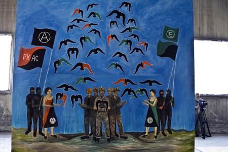 """Неизвестные разгромили выставку художника Чичкана: """"все оригиналы работ уничтожены"""" - Цензор.НЕТ 4215"""