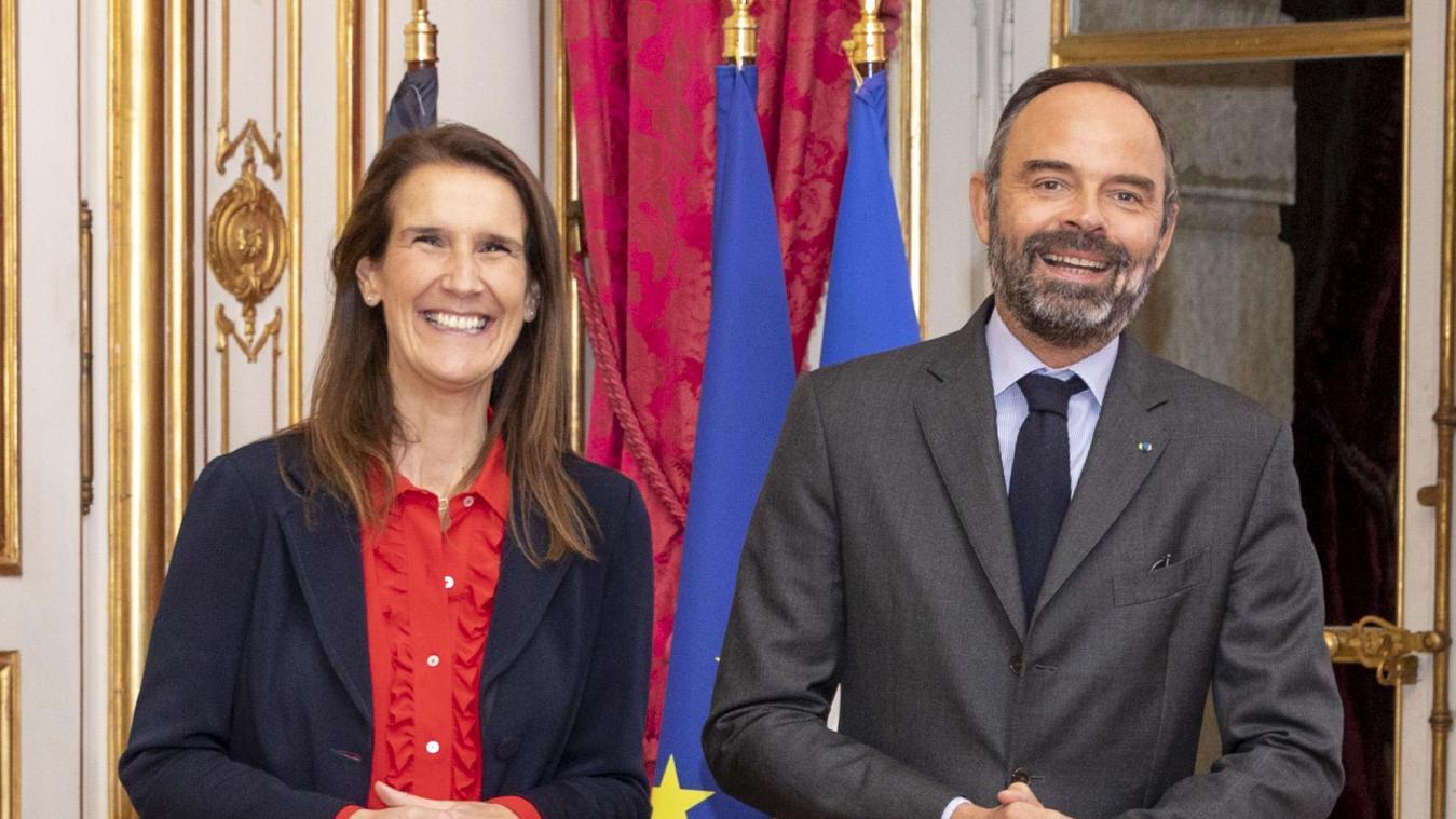 Premier tête-à-tête avec le Premier ministre français, Edouard Philippe.