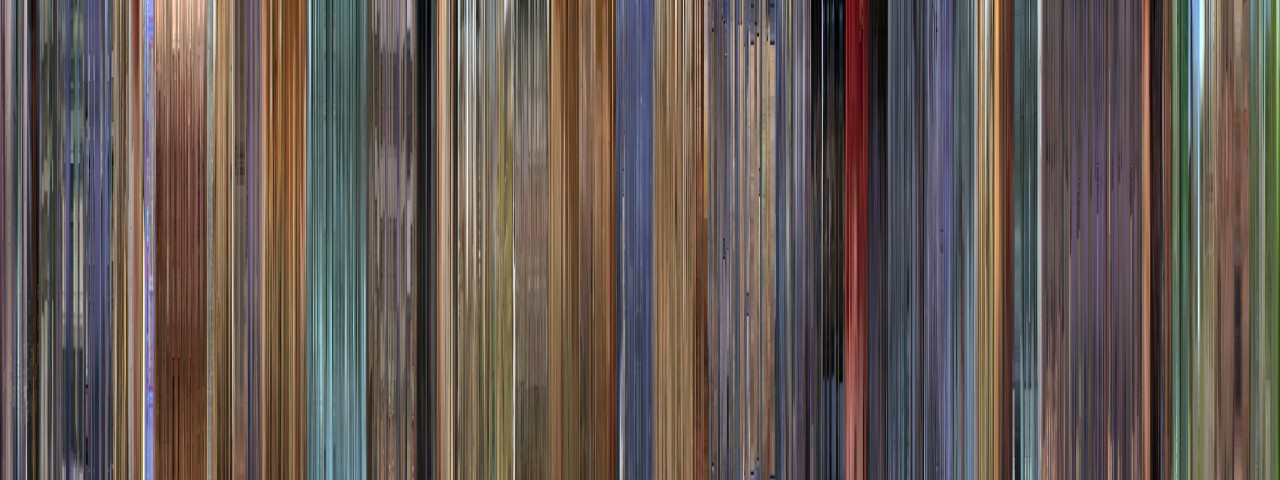A Scanner Darkly - MovieBarcode