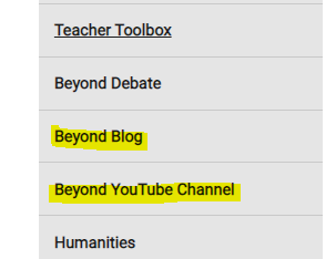 Beyond Blog & YouTube Channel