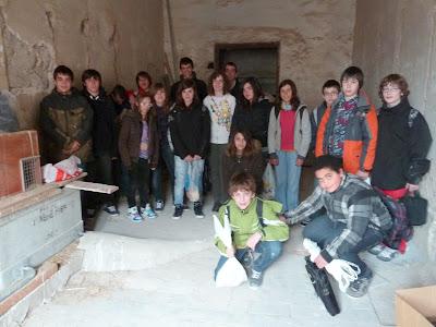 Els alumnes que participen aquest curs en el Projecte Òliba