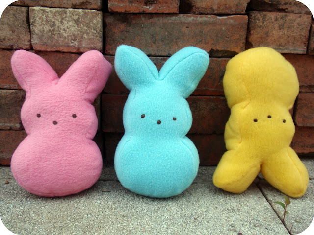 marshmallow bunny plushie pattern and tutorial