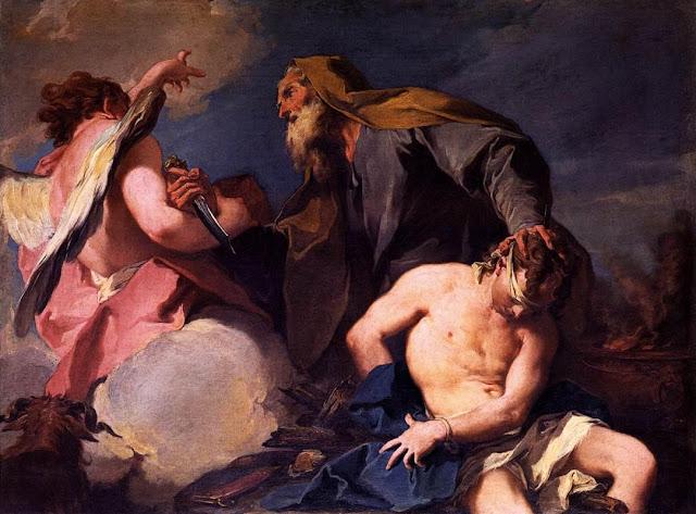 Giambattista Pittoni: Žrtvovanje Izaka