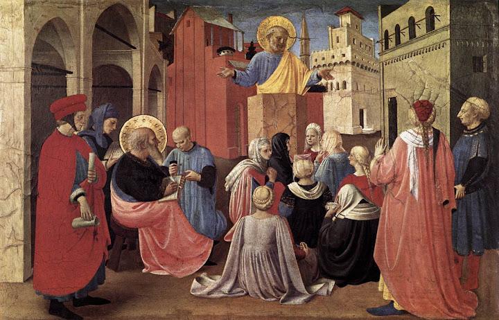 Fra Angelico: Sv. Petar propovijeda