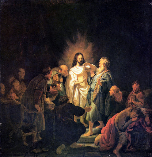 Rembrandt: Nevjerni Toma