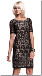 isabella oliver black lace dress