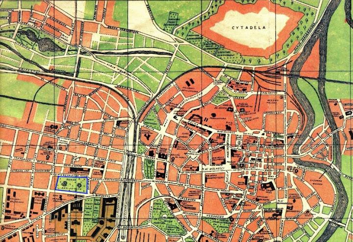 Plan Poznania z 1929 roku
