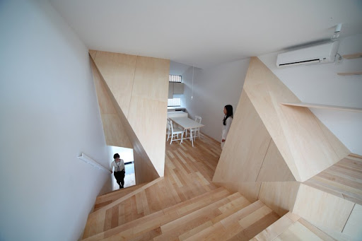 New Kyoto Town House design by Alphaville Architecture, Interior